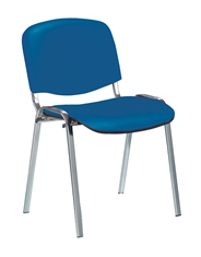 Новый Стиль Стул для посетителя ISO синий