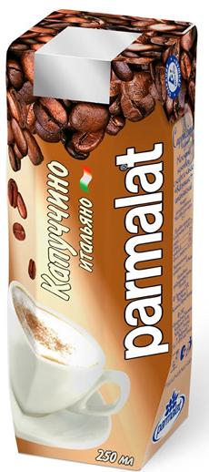 Молочный коктейль PARMALAT Капучино итальяно, 250г