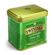 TWININGS Чай зеленый крупнолистовой Gunpowder 100г