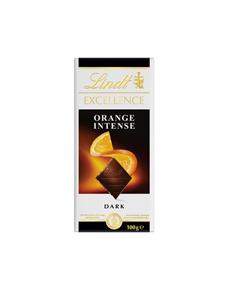 Шоколад LINDT EXCELLENCE темный с кусочками апельсина и миндаля, 100г