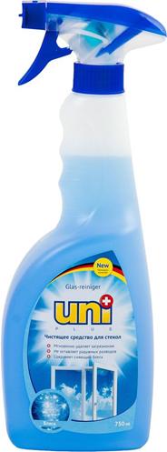 Uni Cредство чистящее для стекол Блеск 750мл