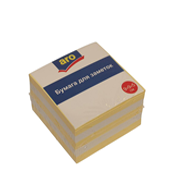 Аrо Блок бумажный 9х9х5см Цветной