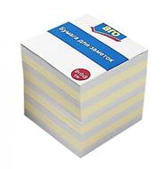 Аrо Блок бумажный 9х9х9 см Цветной