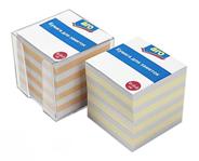 Аrо Блок бумажный цветной в пластиковой подставке