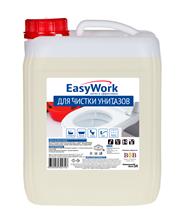 Средство чистящее EASY WORK для унитазов, 5л
