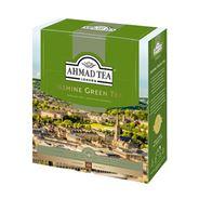 AHMAD TEA Чай зеленый байховый мелкий с жасмином Jasmine Green Tea 100 пак.