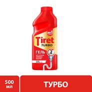 Tiret Гель для устранения сложных засоров Turbo 500мл