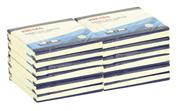 Sigma Бумажный блок бумага для записей с липким краем 76х76 мм 100л 12 шт Зеленый