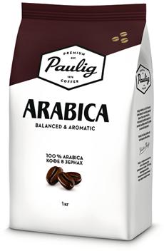 Кофе PAULIG в зернах натуральный жареный Arabica, 1кг