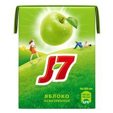 J7 Сок зеленое яблоко 0,2л х 6шт.