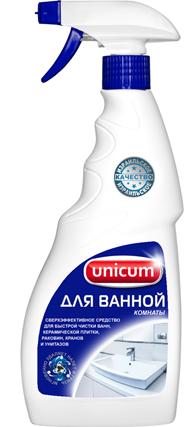 Unicum Средство для чистки ванной комнаты 500 мл