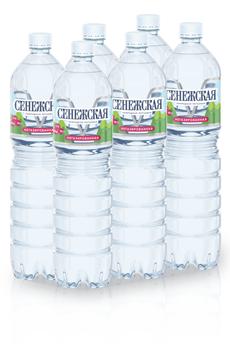 Сенежская Вода минеральная питьевая негазированная 1.5л, 6 шт.