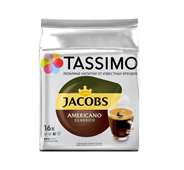 TASSIMO Кофе в капсулах Americano Classico 16 порций