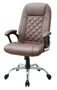 Кресло руководителя SIGMA GX-011 коричневое