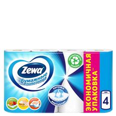 Zewa  Полотенца бумажные 4 рулона
