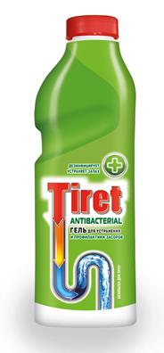 Tiret Гель антибактериальный для удаления и профилактики засоров 1л
