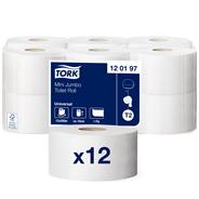 Туалетная бумага TORK MINI BASIC однослойная, 200м