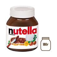 Паста NUTELLA шоколадно-ореховая, 180г