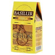 BASILUR Чай черный листовой Золотой остров 100г