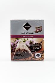 RIOBA Чай черный с чабрецом в саше 20 пакетиков