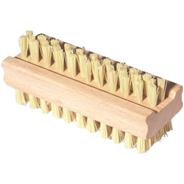 York Щетка для рук деревянная двусторонняя