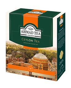 AHMAD TEA Чай черный пакетированный Ceylon 100 пак.