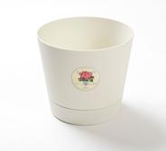 Le parterre Горшок для цветов D15 2,8 л Кремовый