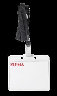 Бейдж на шнурке SIGMA, 5шт