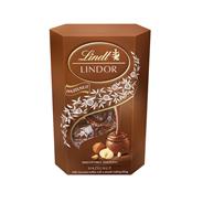 Lindt Конфеты из молочного шоколада Lindor Корнет Фундук 200г