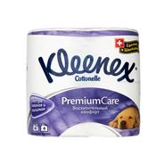 Туалетная бумага KLEENEX Premium Care Восхитительный Комфорт 4-слойная, 4 рулона
