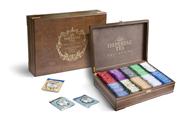 Imperial Tea Чай ассорти из 10 вкусов в деревянной шкатулке в саше 250 пак.