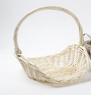 Корзина плетеная подарочная овальная 45 см