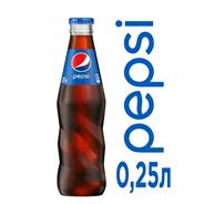 Напиток PEPSI-COLA сильногазированный безалкогольный, 12х0,25л