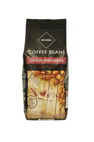 RIOBA Кофе в зернах натуральный жареный Origin Indonesia 100% Arabica 500г