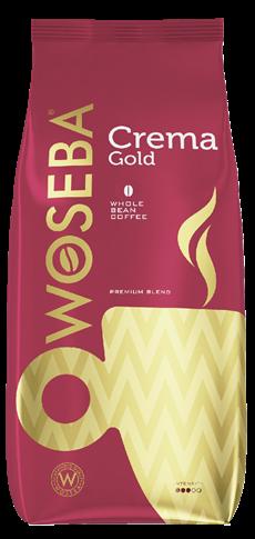 WOSEBA Кофе в зернах натуральный жареный Gold 1кг