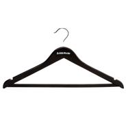 Attribute Плечики для верхней одежды черные 4 шт