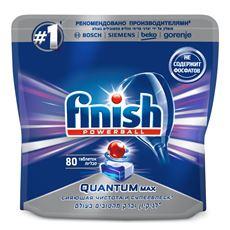 Finish Таблетки для посудомоечных машин Quantum, 80шт
