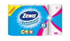 Zewa Полотенца бумажные Декор 4 рулона