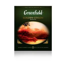 Greenfield Чай черный Golden Ceylon в саше 100*2г