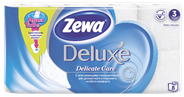 Zewa Deluxe Бумага туалетная трехслойная 8 рулонов Ромашка