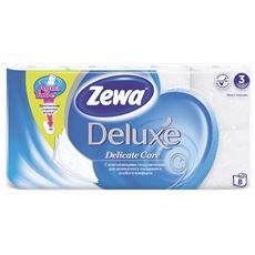 Zewa Deluxe Бумага туалетная трехслойная ромашка 8 рулонов