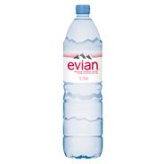 Evian Вода минеральная столовая/питьевая негазированная 1,5л