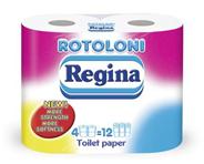 Туалетная бумага REGINA 2 слоя, 4 рулона