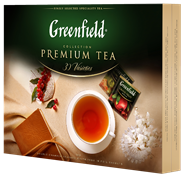 Чай GREENFIELD ассорти из 30 вкусов в картонной коробке в саше 120 пак.