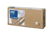 Tork Салфетки бумажные двухслойные сложения 1/4 33х33 см бисквит 200 шт
