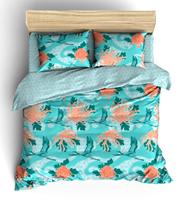Комплект постельного белья Семейный Метаморфозы Голубой