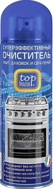 Top house Средство для чистки плит, духовых шкафов, СВЧ 300мл