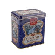 HILLTOP Чай черный листовой Музыкальная шкатулка Земляника со сливками 125г