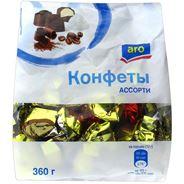 ARO Конфеты шоколадные ассорти 360г
