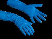 Vileda Professional Перчатки многоцелевые размер S Голубые